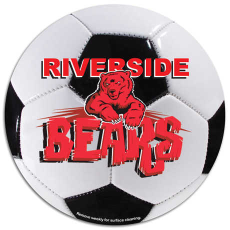 Soccer Ball Car Sign Magnet