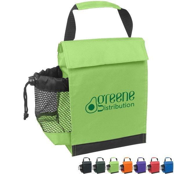Identification Nylon Lunch Bag