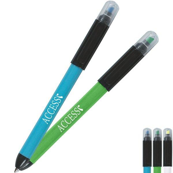 Twin-Write Pen & Highlighter