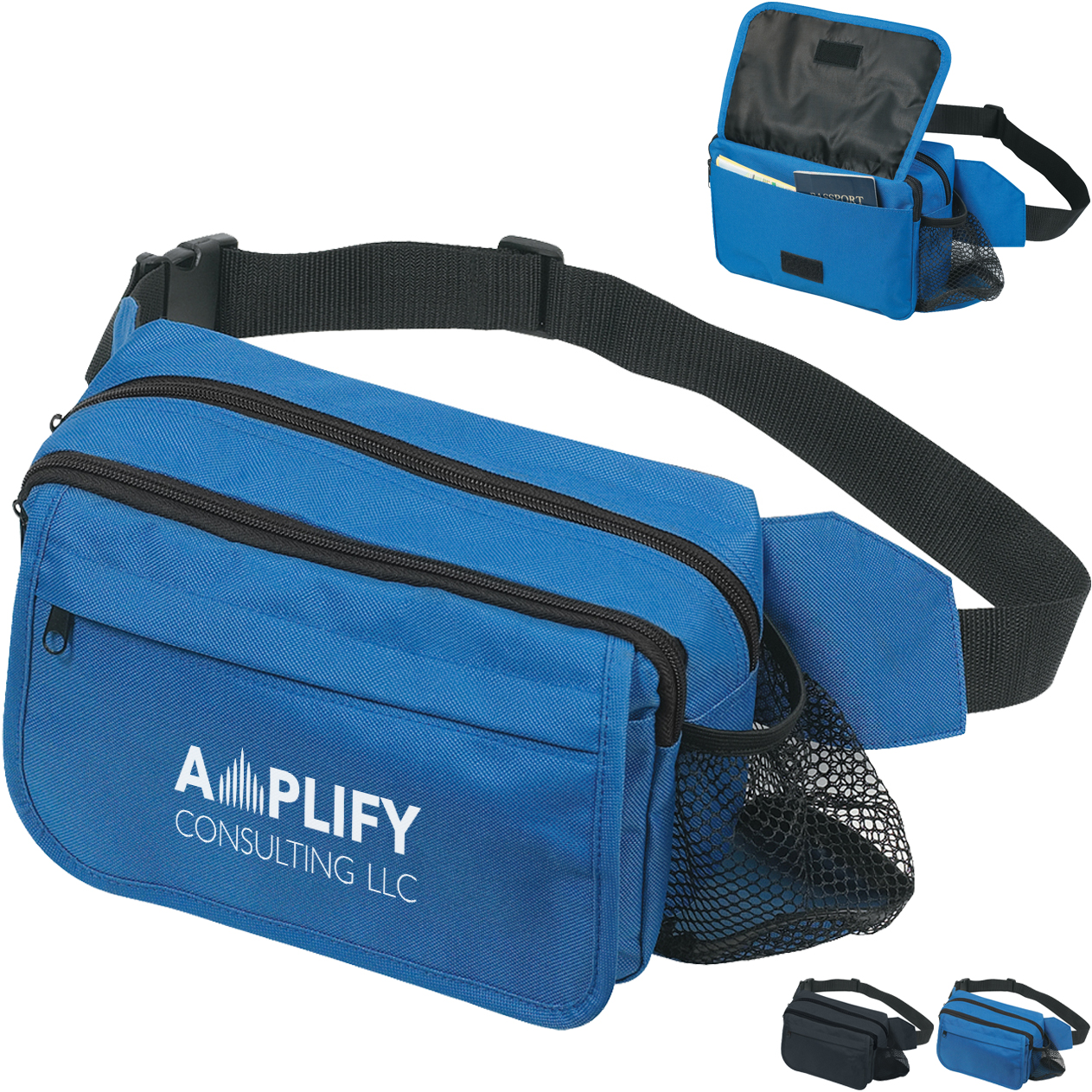 Happy Travels Multi-Compartment Waist Pack