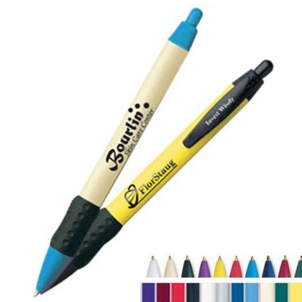 BIC® WideBody® Rubber Grip Refillable Pen