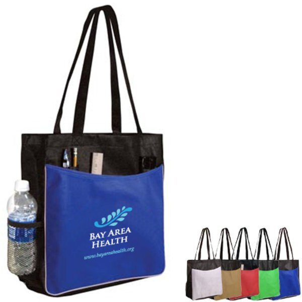 Non-Woven Business Tote Bag, Full Color