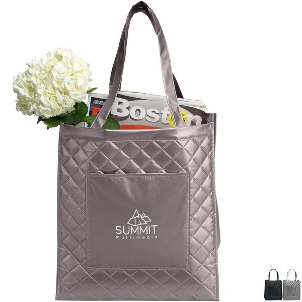 Chelsea Quilted Non-Woven Laminated Shopper