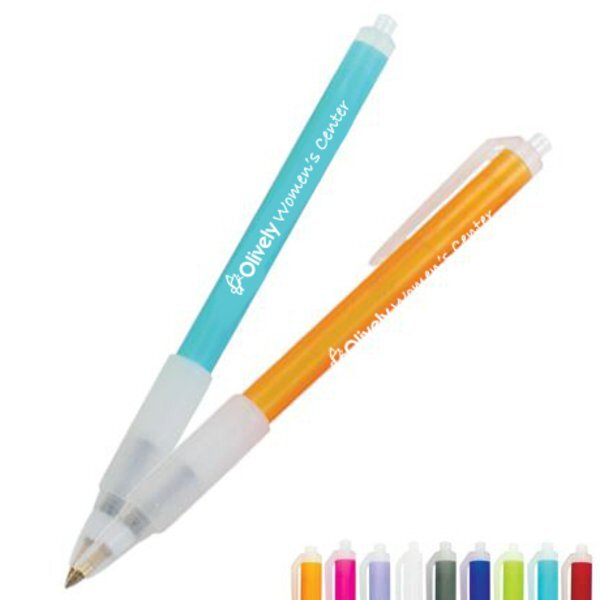 BIC® Clic Stic® Ice Grip Retractable Pen