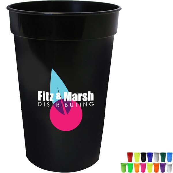 Smooth Stadium Cup 17oz. w/ Full Color Imprint