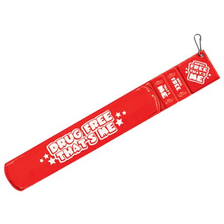 Drug Prevention Reflective Bracelet Combo Set, Stock