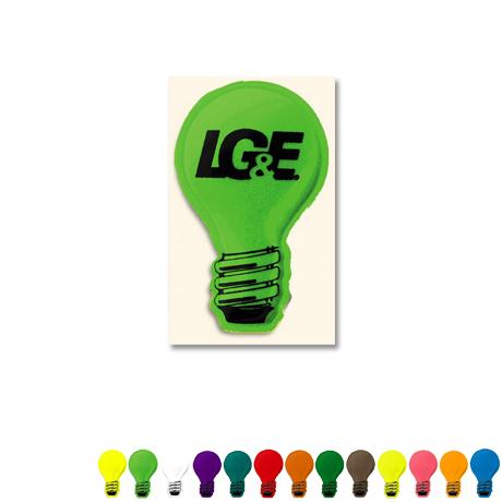 Light Bulb Reflective Sticker