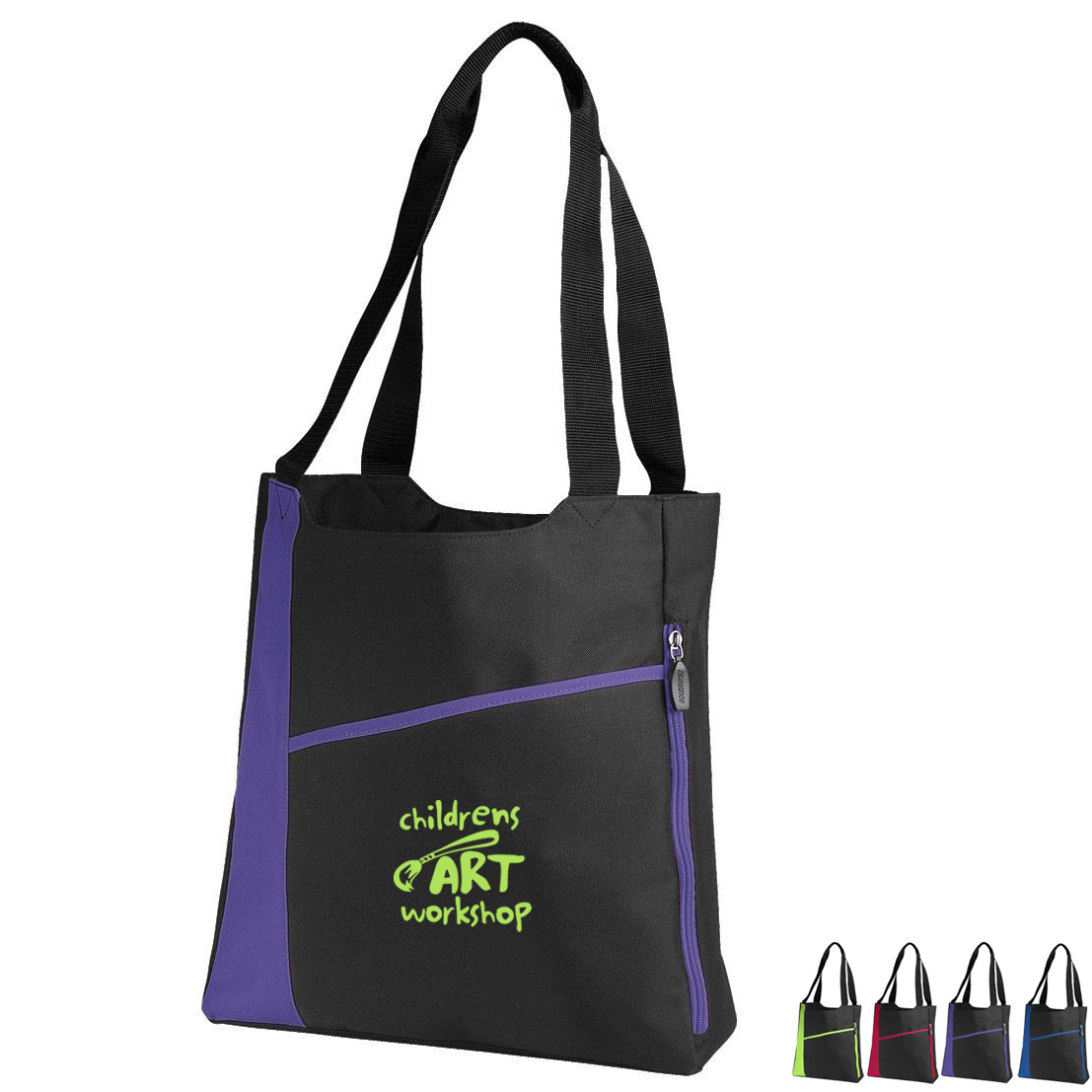 Incline 600D Polyester Convention Tote