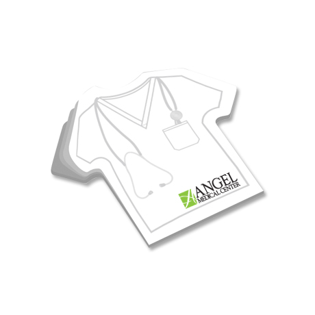Post-it® Custom Printed Die-Cut Notes - T-Shirt Shape