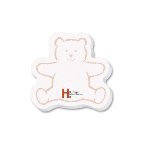 Post-it® Custom Printed Die-Cut Notes - Bear Shape