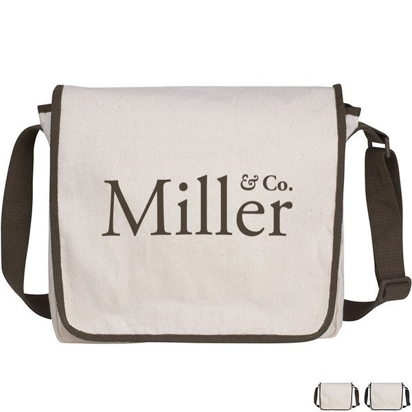 Natural Recycled Cotton Messenger
