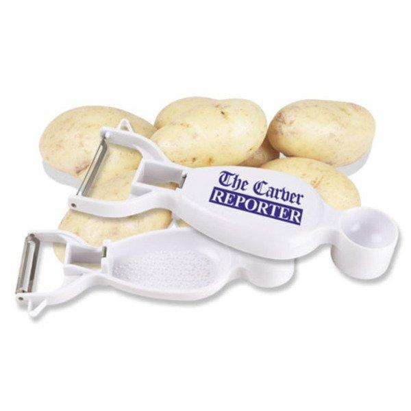Multi-Use Vegetable Peeler & Measuring Spoon