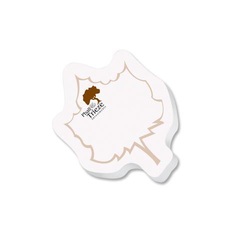 Post-it® Custom Printed Die-Cut Notes - Leaf Shape