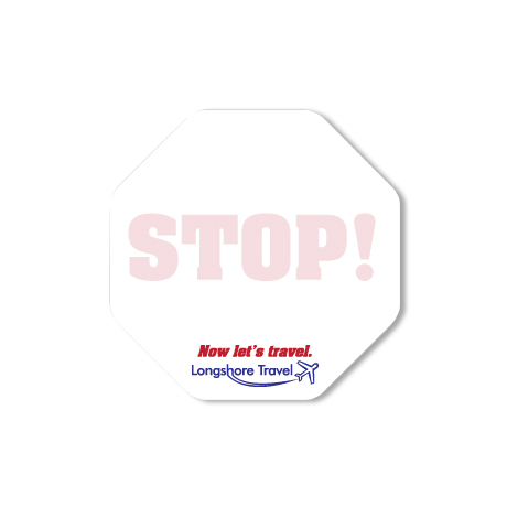 Post-it® Custom Printed Die-Cut Notes - Octagon Shape