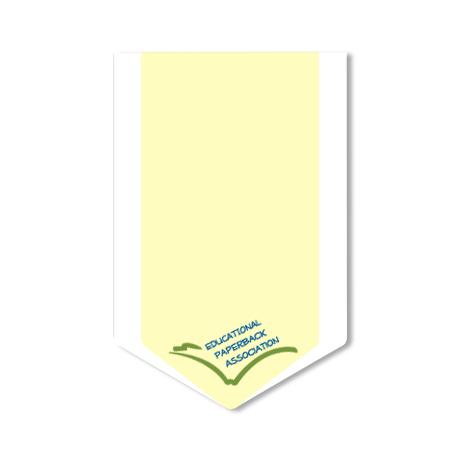 Post-it® XL Custom Printed Die-Cut Notes - Down Arrow Shape