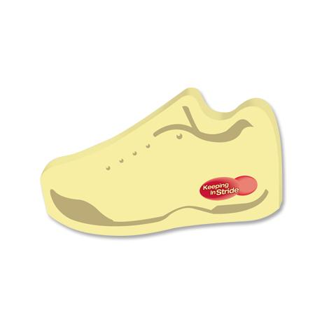 Post-it® XL Custom Printed Die-Cut Notes - Tennis Shoe Shape