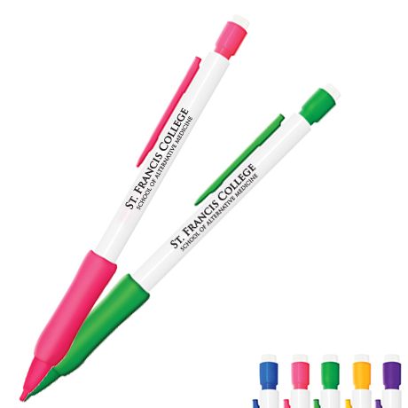 Pastel Rubber Grip Mechanical Pencil