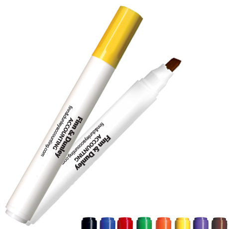 Low Odor Chisel Tip Broadline Dry Eraser Marker