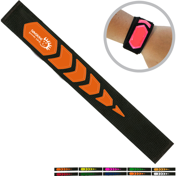 Reflective Safety Wrist Wrap