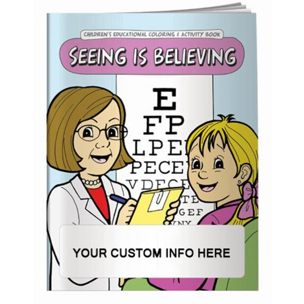 Seeing is Believing Coloring & Activity Book