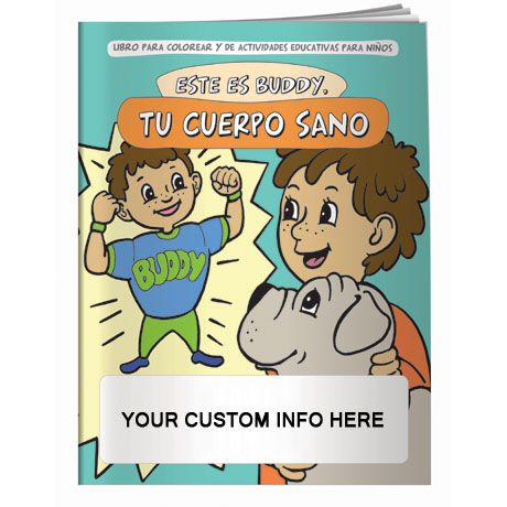 Meet Buddy Your Healthy Body Coloring & Activity Book - Spanish Version