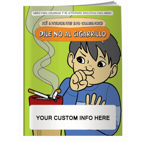 Say No To Smoking Coloring & Activity Book - Spanish Version