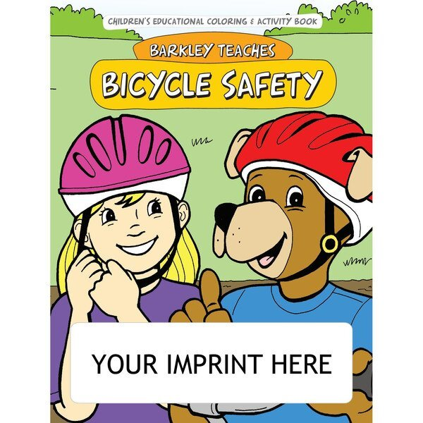 Barkley Teaches Bicycle Safety Coloring & Activity Book