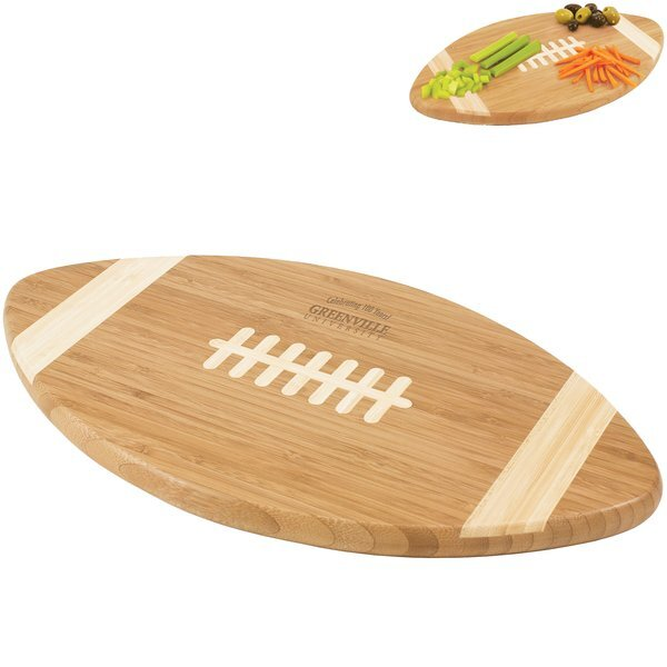 Football Bamboo Cutting Board