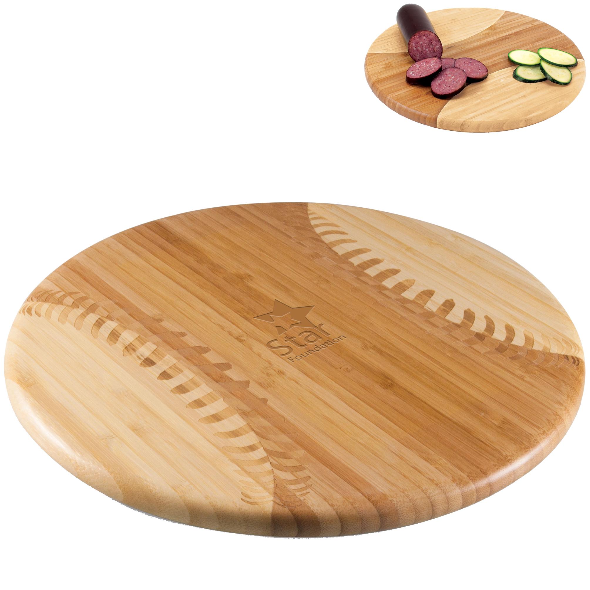Baseball Bamboo Cutting Board