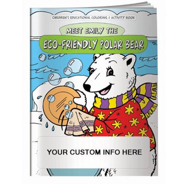Meet Emily the Eco-Friendly Polar Bear Coloring & Activity Book