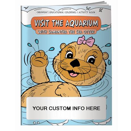 Visit the Aquarium Coloring & Activity Book
