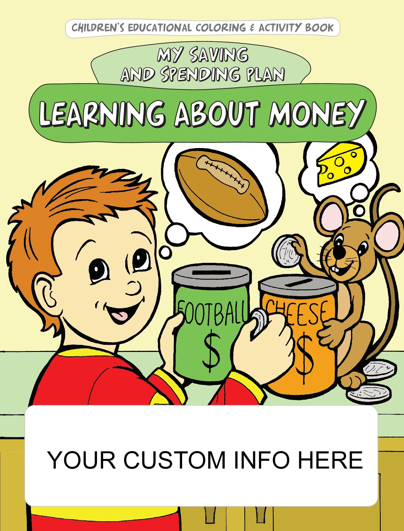 Learning About Money Coloring & Activity Book