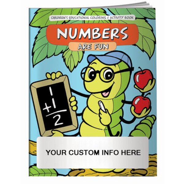 Numbers are Fun Coloring & Activity Book