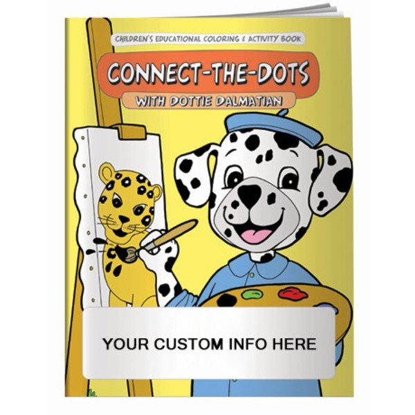 Connect-The-Dots with Dottie Dalmation Coloring & Activity Book