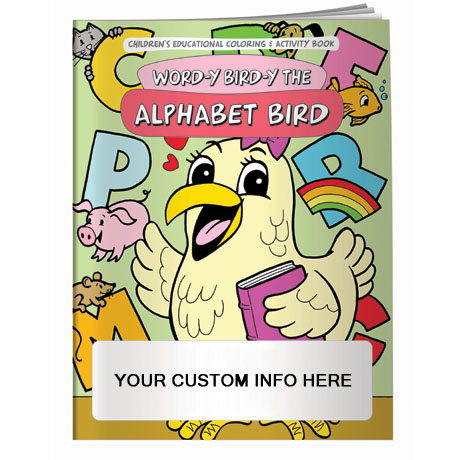 Word-y Bird-y the Alphabet Bird Coloring & Activity Book