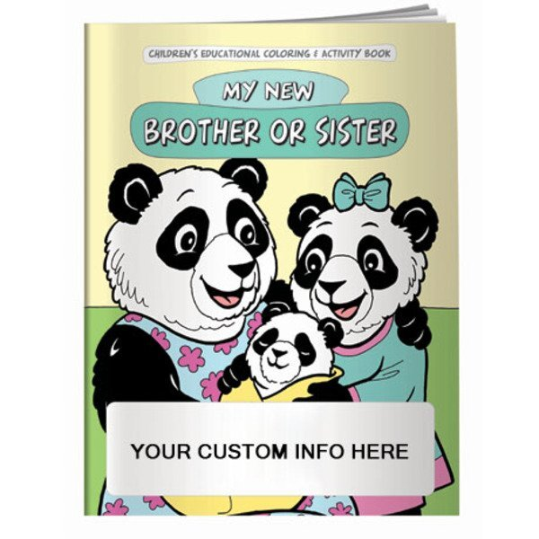 My New Brother or Sister Coloring & Activity Book
