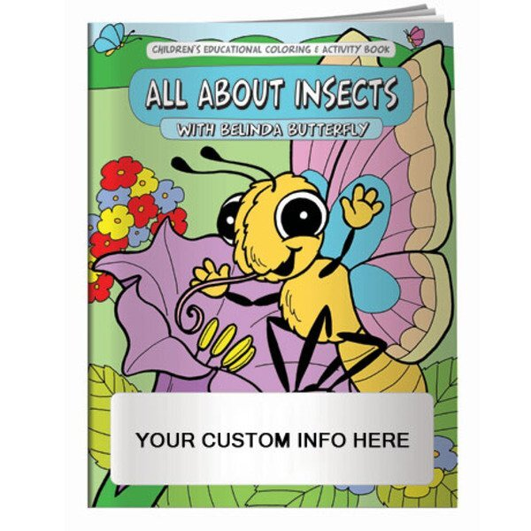 All About Insects with Belinda Butterfly Coloring & Activity Book