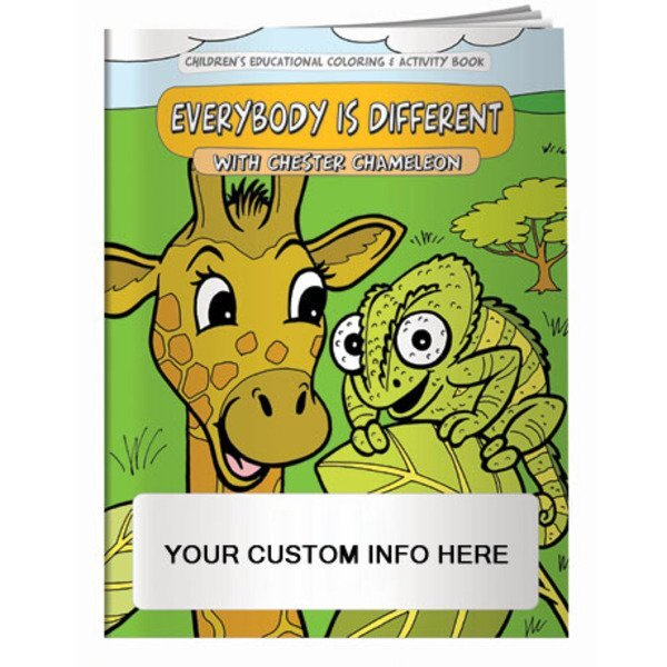 Everybody is Different Coloring & Activity Book