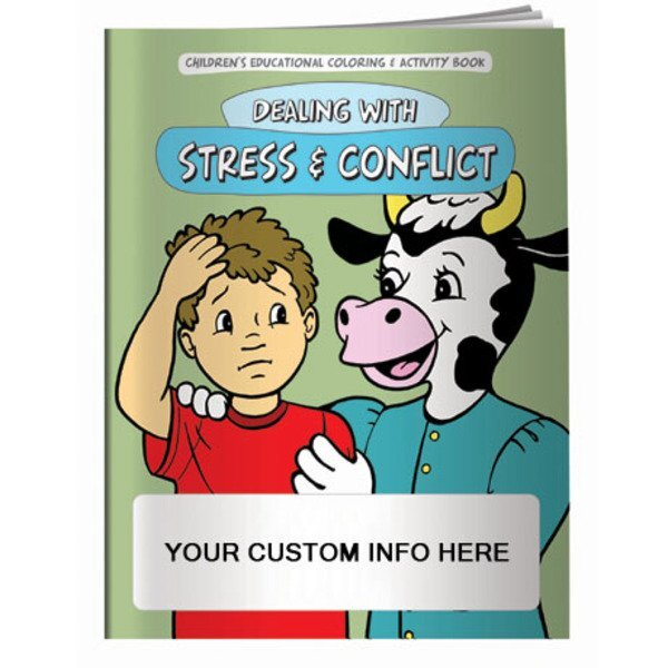 Dealing with Stress & Conflict Coloring & Activity Book