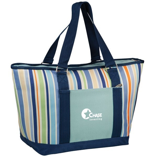 Topanga Insulated Cooler Tote - St. Tropez Collection