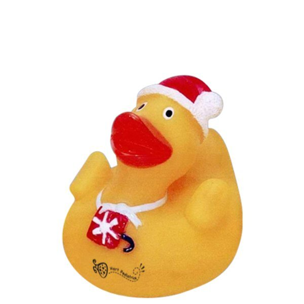 Christmas Rubber Ducky with Gift Box