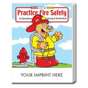 Fire Safety Themed Coloring Books | Fire Safety-Themed Activity ...