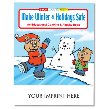 Make Winter & Holidays Safe Coloring & Activity Book