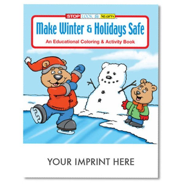 Make Winter & Holidays Safe Coloring & Activity Book