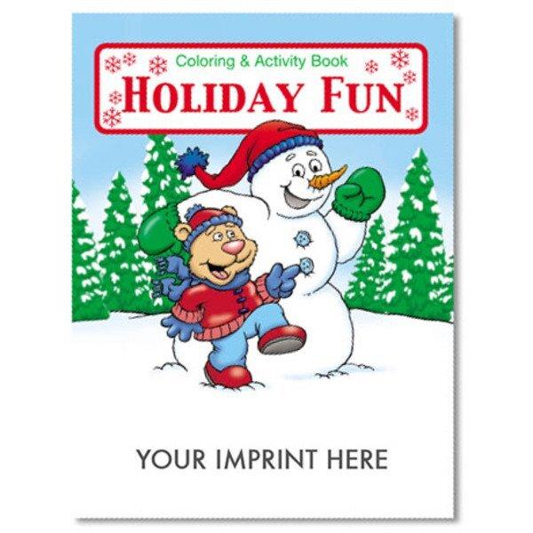 Holiday Fun Coloring & Activity Book