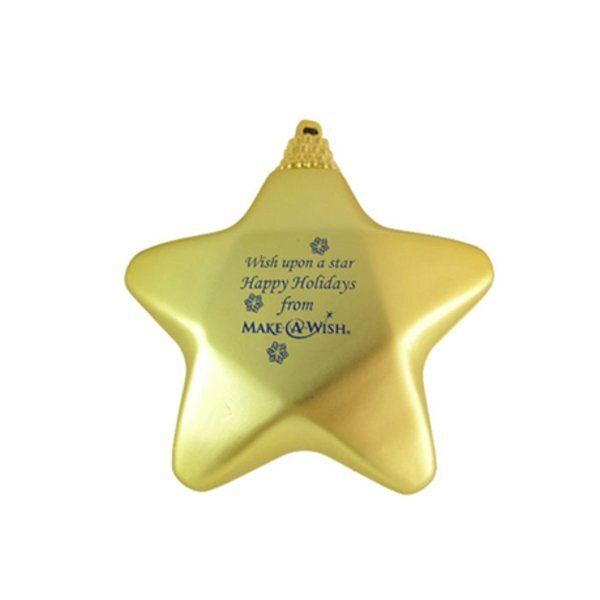 Star Satin Finish Unbreakable Ornament