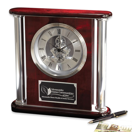 Titan Wood Clock