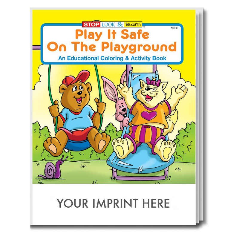 Play it Safe on The Playground Coloring & Activity Book
