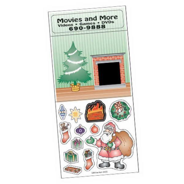 Peel N' Play Stickers - Decorate A Christmas Tree
