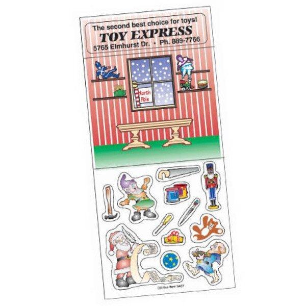 Peel N' Play Stickers - Santa's Workshop